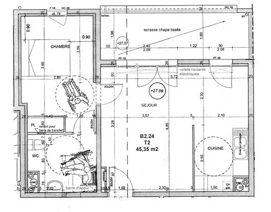 Amnagement Salle D Eau Handicap Top Awesome Plan Salle De Bain